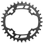 390726-01 SRAM, X-Sync, 32T, 11sp, BCD: 94mm, 4 Bolt, Single Chainring, Steel, Black