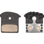 BR8668 Shimano J04C Metal Disc Brake Pads with Fin - Fits XTR BR-M9020, XTBR-M8000, SLX BR-M675, SLX BR-M7000, Deore BR-M615, BR-R517