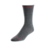 SK8123 Pearl Izumi Elite Tall Wool Sock: Shadow Gray MD