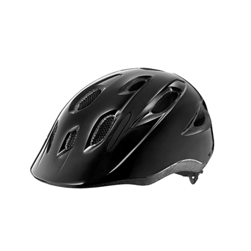 Giant G800002221 GNT Hoot Youth Helmet OSFM ARX Gloss Black (w/ Bug Net)