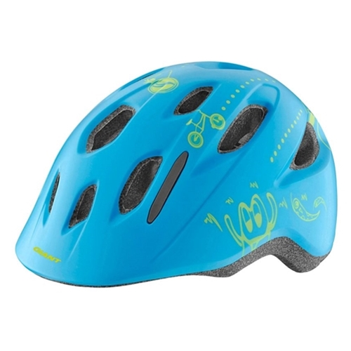 Giant G800002244 GNT Holler Youth Helmet OSFM Matte Blue (w/ Bug Net)