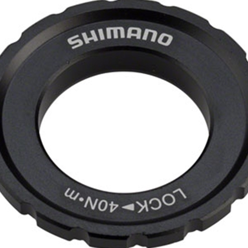BR8745 Shimano XT M8010 Outer Serration Centerlock Disc Rotor Lockring, for use with 12/15/20mm Axle Hubs