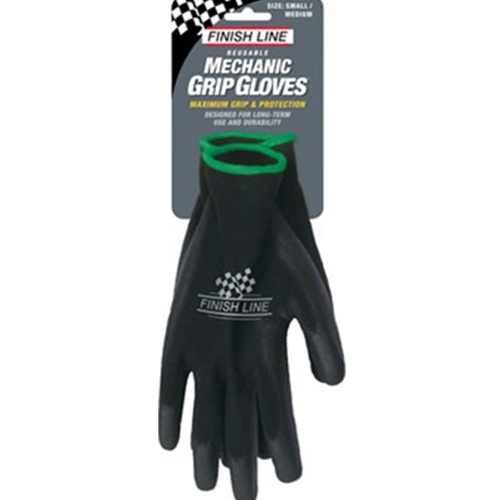 TL2577 Finish Line Mechanic's Grip Gloves, SM/MD