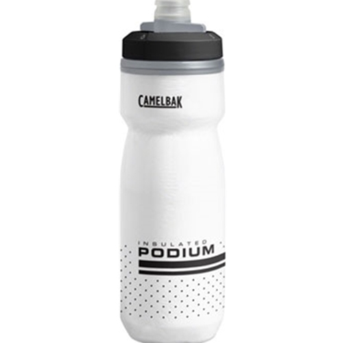 CamelBak WB2256 Camelbak Podium Chill Water Bottle: 21oz, White/Black