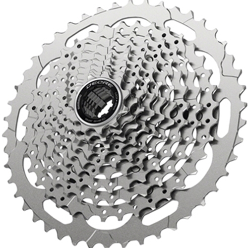 ECSM410010146 Shimano Deore CS-M4100-10 Cassette - 10-Speed, 11-46t, Silver